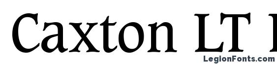 Шрифт Caxton LT Book