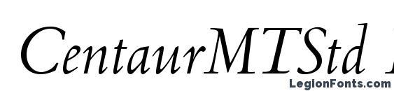 CentaurMTStd Italic font, free CentaurMTStd Italic font, preview CentaurMTStd Italic font