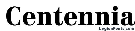 Шрифт CentennialLTStd Black