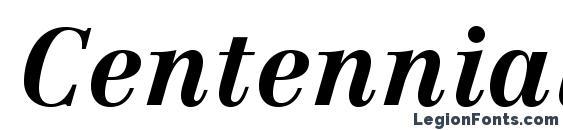Шрифт CentennialLTStd BoldItalic