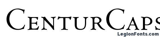 CenturCapsDB Normal Font