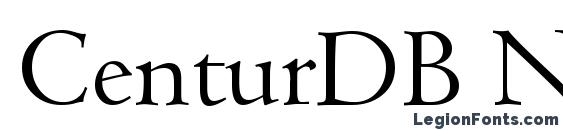 CenturDB Normal font, free CenturDB Normal font, preview CenturDB Normal font