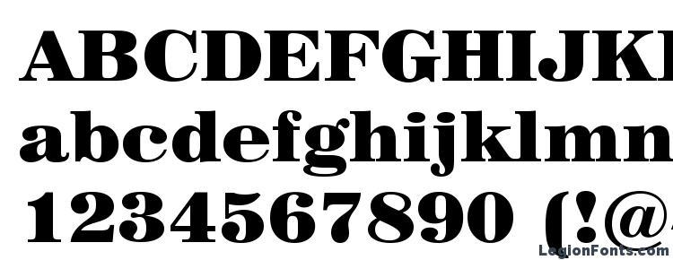 глифы шрифта Century 725 Black BT, символы шрифта Century 725 Black BT, символьная карта шрифта Century 725 Black BT, предварительный просмотр шрифта Century 725 Black BT, алфавит шрифта Century 725 Black BT, шрифт Century 725 Black BT