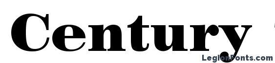 Century 725 Black BT Font