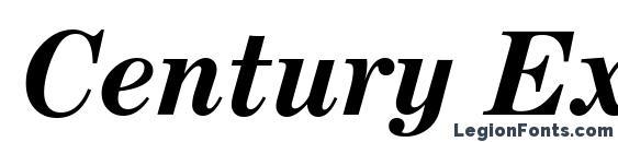 Century Expanded Bold Italic BT Font