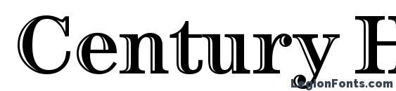Шрифт Century Htld ITC TT
