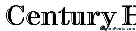 Шрифт Century Htld OS ITC TT