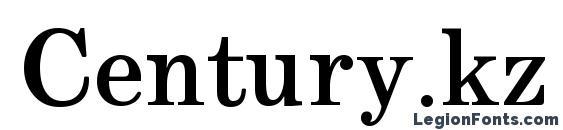 Century.kz Bold Font