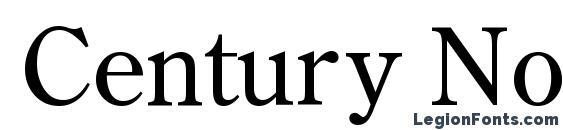 Шрифт Century Normal