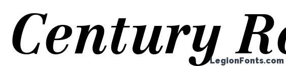 Шрифт Century Reprise SSi Bold Italic