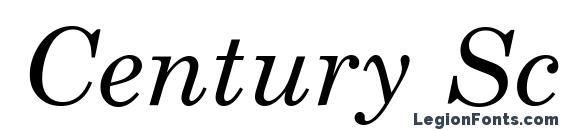 Century Schoolbook Курсив Font, Russian Fonts