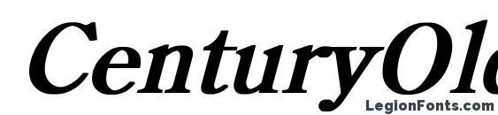 Шрифт CenturyOldStyle Bold Italic