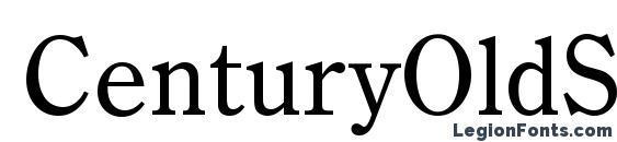 Шрифт CenturyOldStyTEE