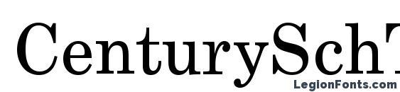 CenturySchT Font