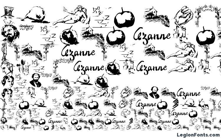образцы шрифта CezanneSketches, образец шрифта CezanneSketches, пример написания шрифта CezanneSketches, просмотр шрифта CezanneSketches, предосмотр шрифта CezanneSketches, шрифт CezanneSketches