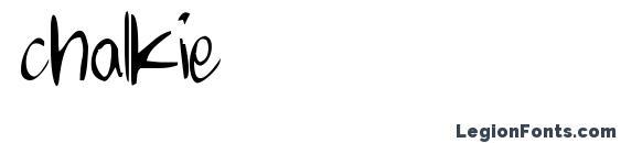 шрифт chalkie, бесплатный шрифт chalkie, предварительный просмотр шрифта chalkie