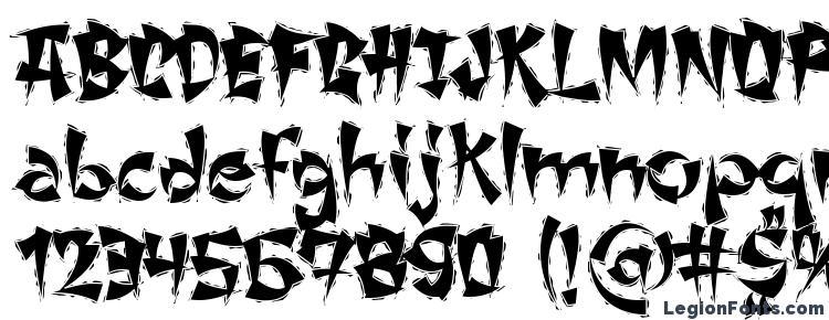 glyphs ChangChangWoodcut font, сharacters ChangChangWoodcut font, symbols ChangChangWoodcut font, character map ChangChangWoodcut font, preview ChangChangWoodcut font, abc ChangChangWoodcut font, ChangChangWoodcut font