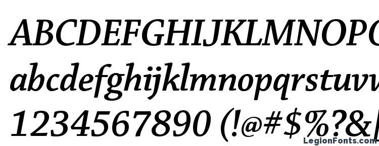 глифы шрифта ChaparralPro SemiboldItDisp, символы шрифта ChaparralPro SemiboldItDisp, символьная карта шрифта ChaparralPro SemiboldItDisp, предварительный просмотр шрифта ChaparralPro SemiboldItDisp, алфавит шрифта ChaparralPro SemiboldItDisp, шрифт ChaparralPro SemiboldItDisp