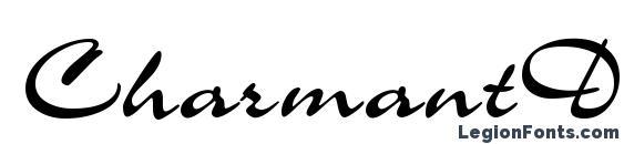 шрифт CharmantDB Normal, бесплатный шрифт CharmantDB Normal, предварительный просмотр шрифта CharmantDB Normal