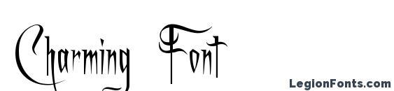 Шрифт Charming Font