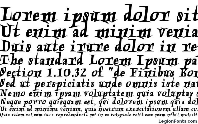 specimens Charon font, sample Charon font, an example of writing Charon font, review Charon font, preview Charon font, Charon font
