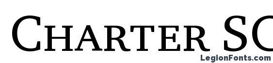 Шрифт Charter SC ITC TT