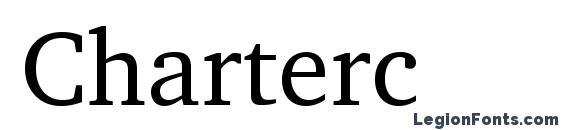 Шрифт Charterc