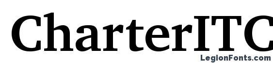 CharterITC Bold Font, OTF Fonts
