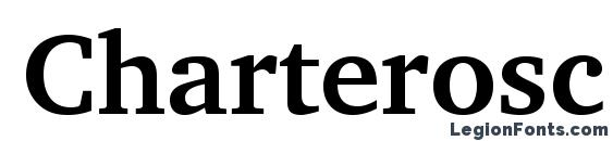 Шрифт Charterosc bold