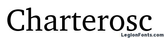 Шрифт Charterosc