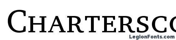 Шрифт Charterscc