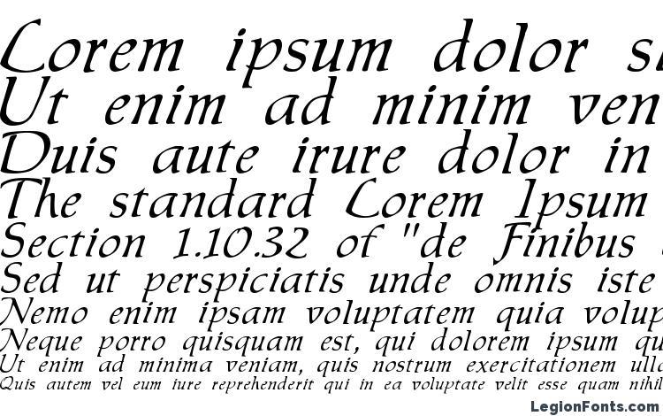 specimens Chauser font, sample Chauser font, an example of writing Chauser font, review Chauser font, preview Chauser font, Chauser font