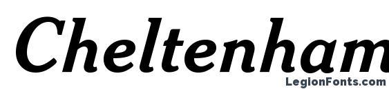 Cheltenham Bold Italic Headline BT Font