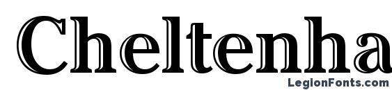 Шрифт Cheltenham Htd ITC TT