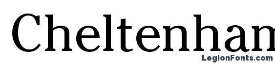 CheltenhamStd Book Font