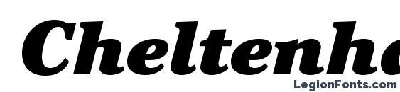 Шрифт CheltenhamStd UltraItalic