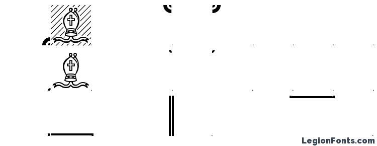 глифы шрифта Chess Leipzig, символы шрифта Chess Leipzig, символьная карта шрифта Chess Leipzig, предварительный просмотр шрифта Chess Leipzig, алфавит шрифта Chess Leipzig, шрифт Chess Leipzig