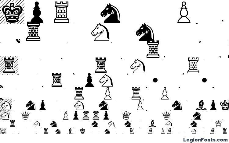 образцы шрифта Chess Leipzig, образец шрифта Chess Leipzig, пример написания шрифта Chess Leipzig, просмотр шрифта Chess Leipzig, предосмотр шрифта Chess Leipzig, шрифт Chess Leipzig