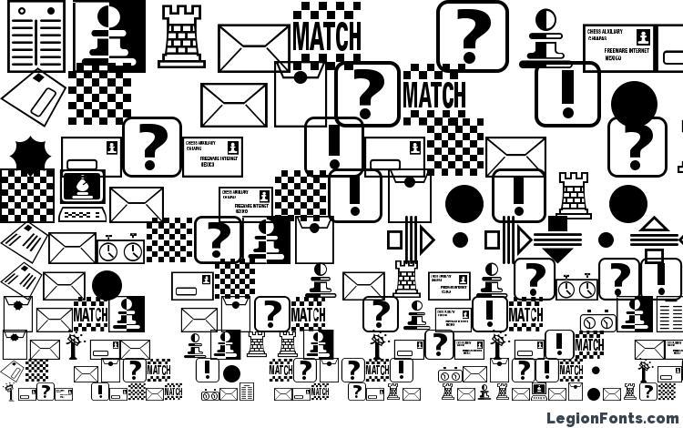 образцы шрифта Chess miscel, образец шрифта Chess miscel, пример написания шрифта Chess miscel, просмотр шрифта Chess miscel, предосмотр шрифта Chess miscel, шрифт Chess miscel