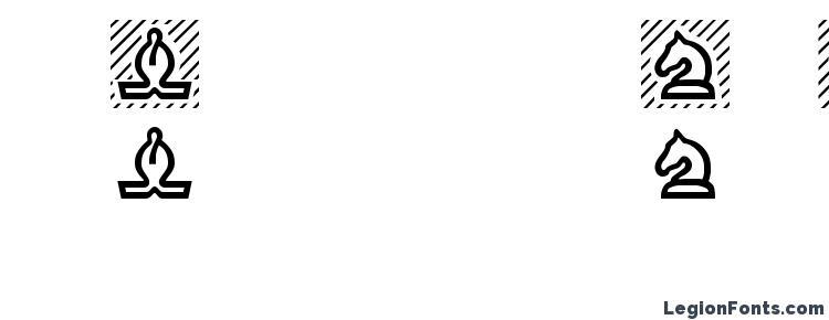 глифы шрифта Chess Regular, символы шрифта Chess Regular, символьная карта шрифта Chess Regular, предварительный просмотр шрифта Chess Regular, алфавит шрифта Chess Regular, шрифт Chess Regular