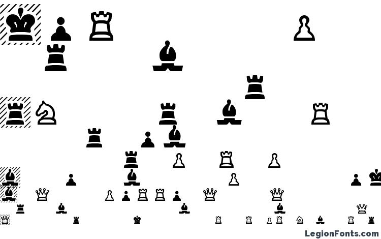 specimens Chess Regular font, sample Chess Regular font, an example of writing Chess Regular font, review Chess Regular font, preview Chess Regular font, Chess Regular font