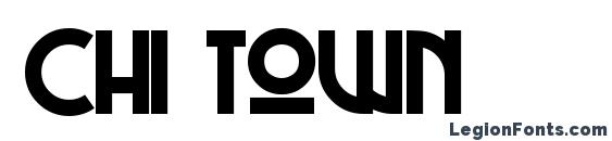 Chi Town Font