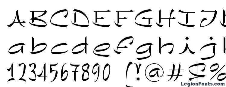 glyphs Chineze LT Light font, сharacters Chineze LT Light font, symbols Chineze LT Light font, character map Chineze LT Light font, preview Chineze LT Light font, abc Chineze LT Light font, Chineze LT Light font