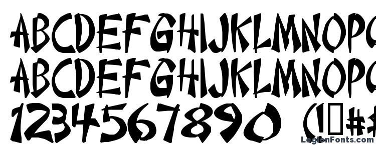 глифы шрифта Chint, символы шрифта Chint, символьная карта шрифта Chint, предварительный просмотр шрифта Chint, алфавит шрифта Chint, шрифт Chint