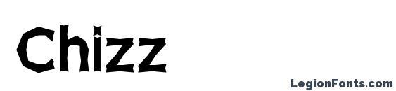 Шрифт Chizz