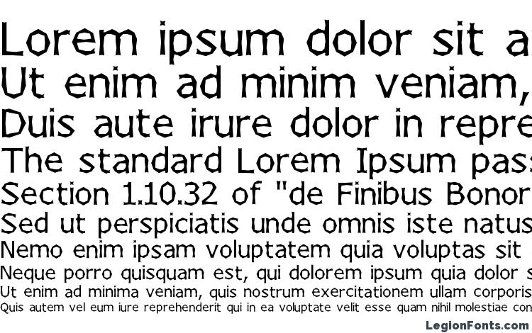 specimens Chizzler Normal font, sample Chizzler Normal font, an example of writing Chizzler Normal font, review Chizzler Normal font, preview Chizzler Normal font, Chizzler Normal font
