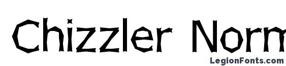Chizzler Normal Font