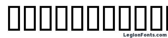 Шрифт Choc Borissov