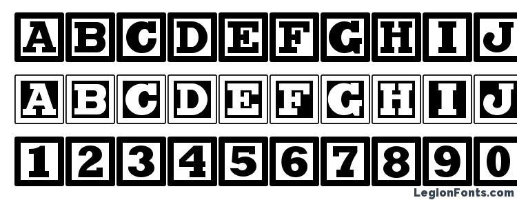 glyphs Chock A Block NF font, сharacters Chock A Block NF font, symbols Chock A Block NF font, character map Chock A Block NF font, preview Chock A Block NF font, abc Chock A Block NF font, Chock A Block NF font