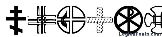 Christian Crosses III Font